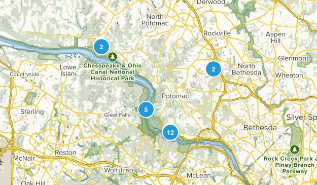 Potomac, Maryland Map