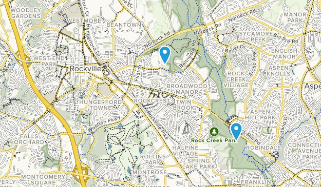 Rockville, Maryland Map
