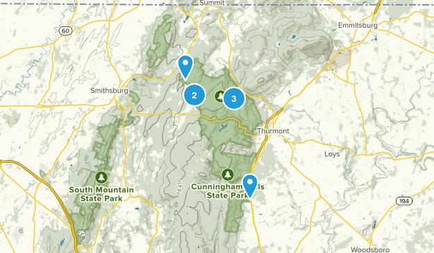 Sabillasville, Maryland Map