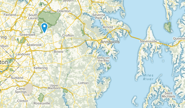 Sandy Hill Acres, Maryland Map