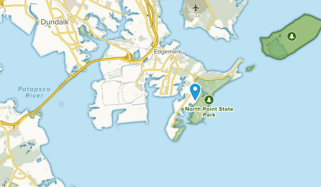 Sparrows Point, Maryland Map
