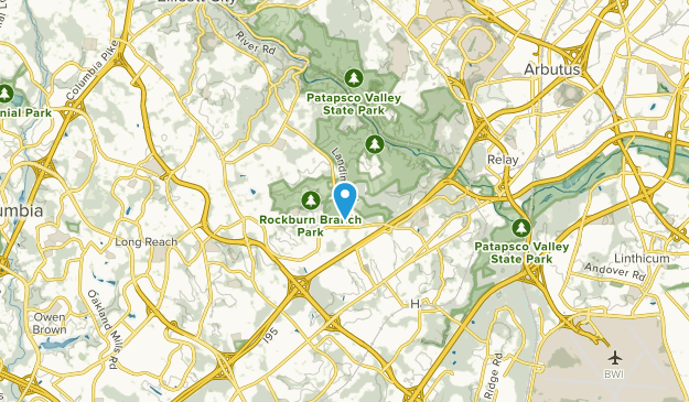 Trial, Maryland Map