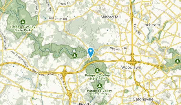 Windsor Mill, Maryland Map