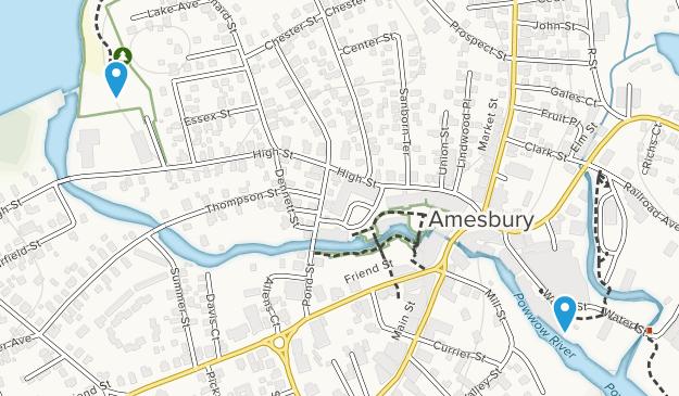 Amesbury, Massachusetts Map