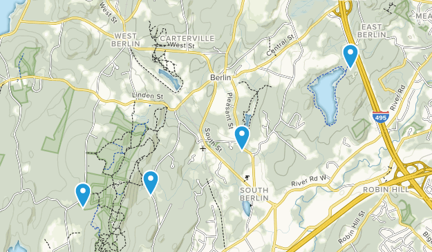 Berlin, Massachusetts Map