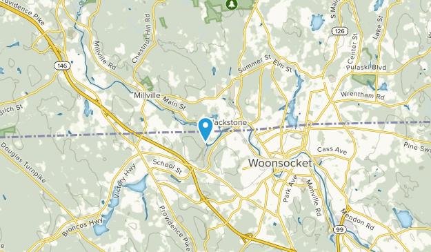 Blackstone, Massachusetts Map
