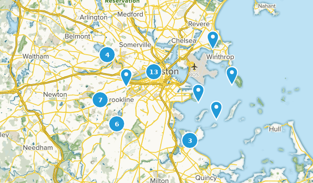 Best Trails Near Boston Massachusetts Alltrails - Boston-on-a-us-map