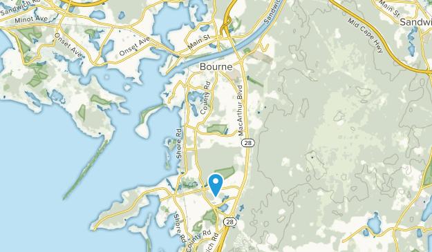Bourne, Massachusetts Map