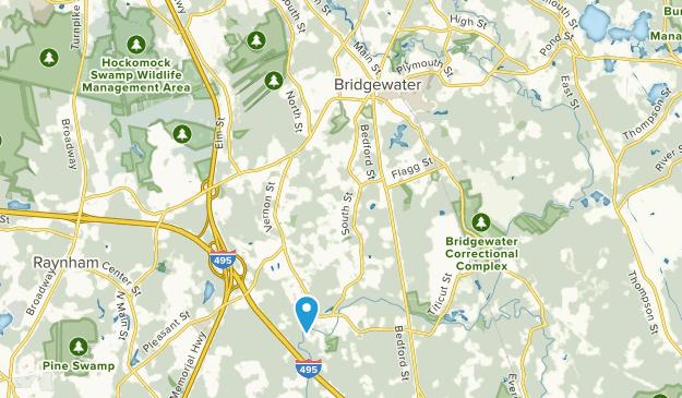 Bridgewater, Massachusetts Map