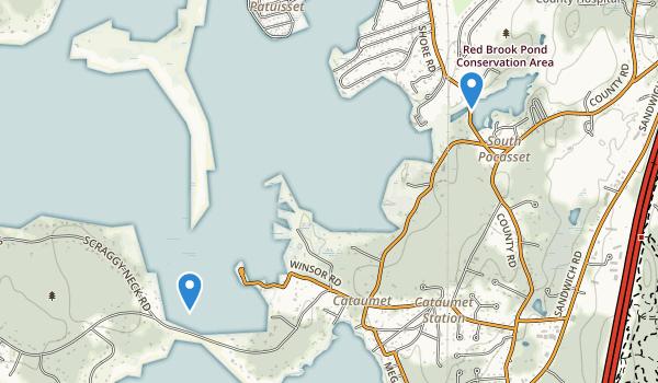 Cataumet, Massachusetts Map