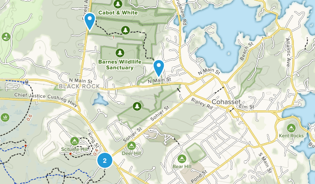 Cohasset, Massachusetts Map