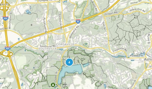 Cordaville, Massachusetts Map