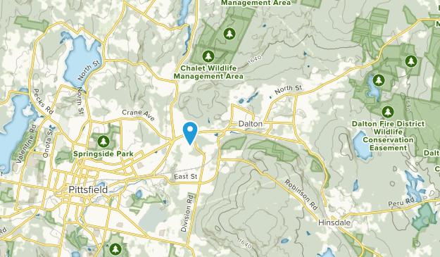 Dalton, Massachusetts Map