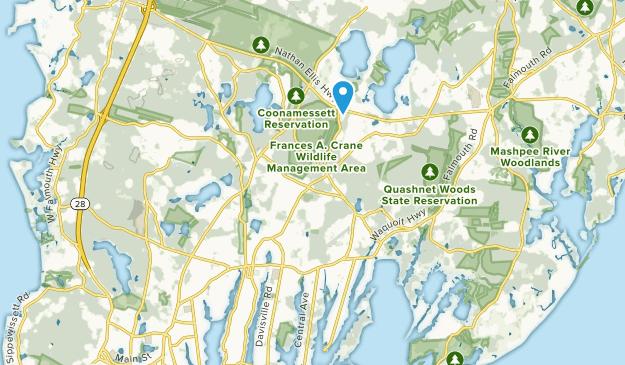 East Falmouth, Massachusetts Map