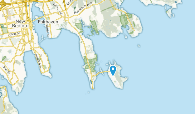 Fairhaven, Massachusetts Map