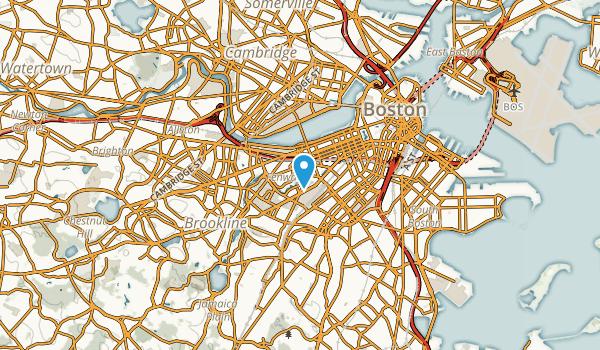 Fenway/Kenmore, Massachusetts Map