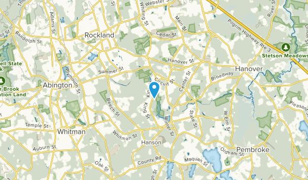 Hanover, Massachusetts Map
