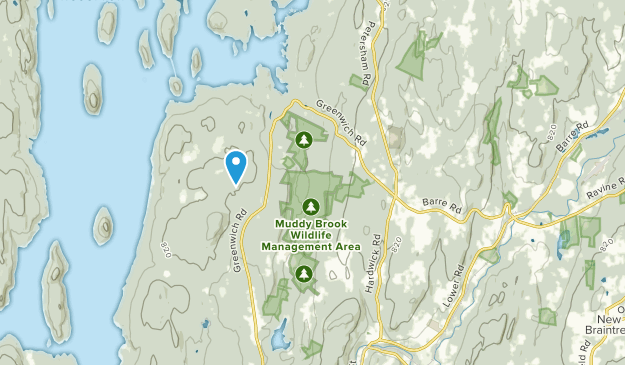Hardwick, Massachusetts Map