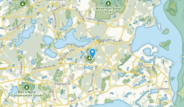 Harwich, Massachusetts Map