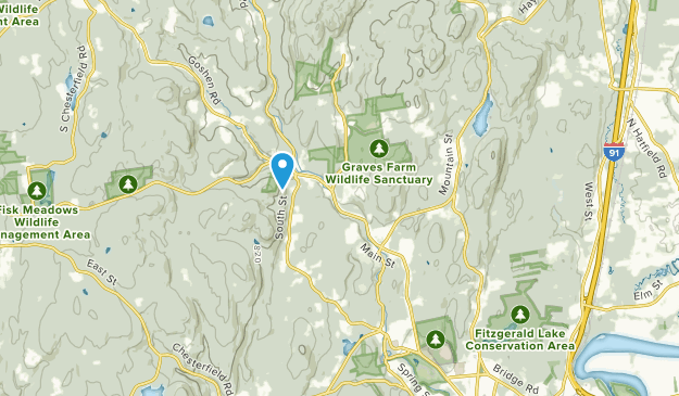Haydenville, Massachusetts Map