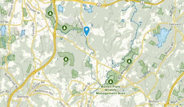 Lancaster, Massachusetts Map