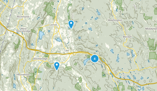 Lee, Massachusetts Map