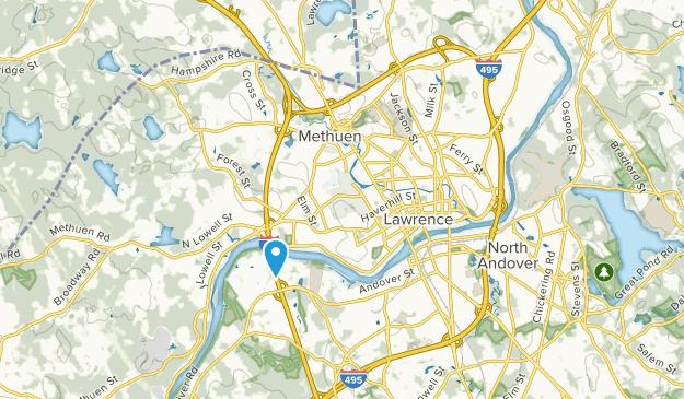 Methuen, Massachusetts Map
