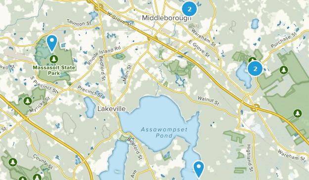 Middleborough, Massachusetts Map