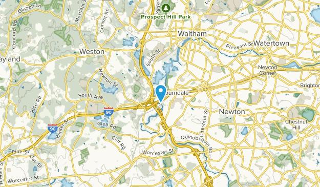 Newton, Massachusetts Map