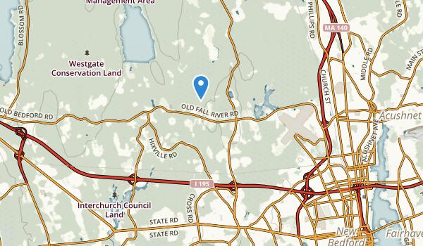 North Dartmouth, Massachusetts Map