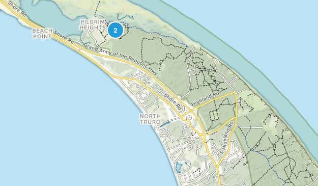 North Truro, Massachusetts Map