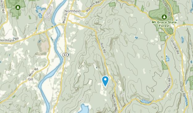 Northfield, Massachusetts Map