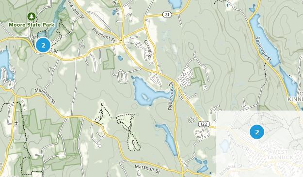 Paxton, Massachusetts Map