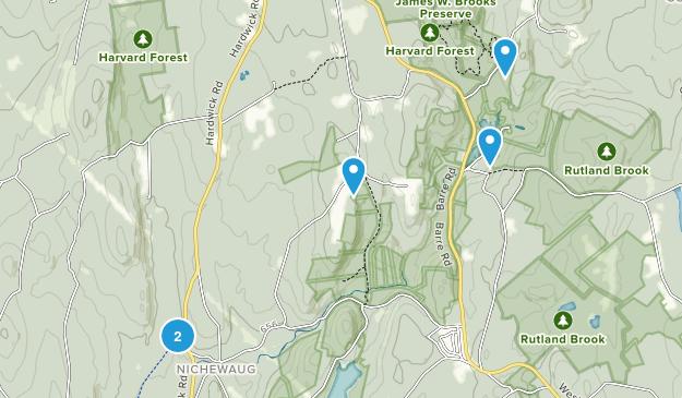 Petersham, Massachusetts Map