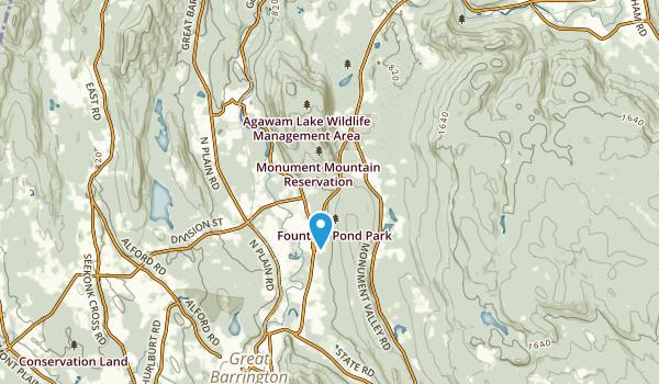 Risingdale, Massachusetts Map
