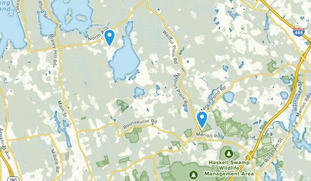 Rochester, Massachusetts Map