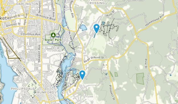 Seekonk, Massachusetts Map