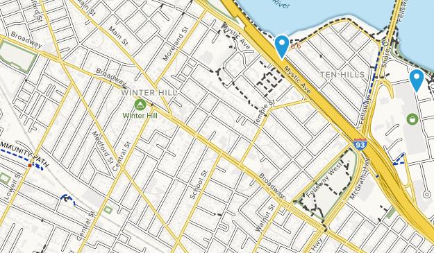 Somerville, Massachusetts Map