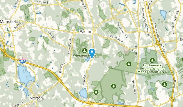 South Easton, Massachusetts Map