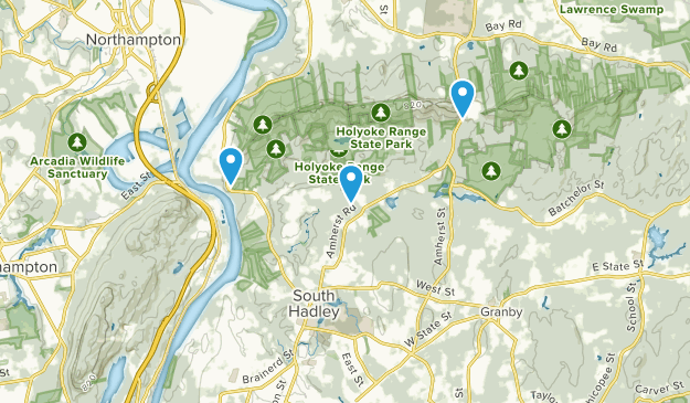 South Hadley, Massachusetts Map