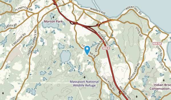 South Pond, Massachusetts Map