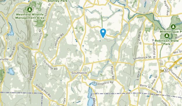 Southwick, Massachusetts Map