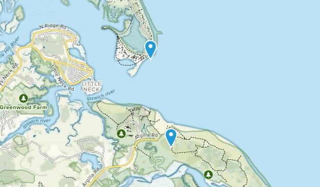 Stage Island, Massachusetts Map