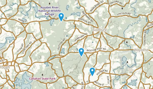 Sudbury, Massachusetts Map
