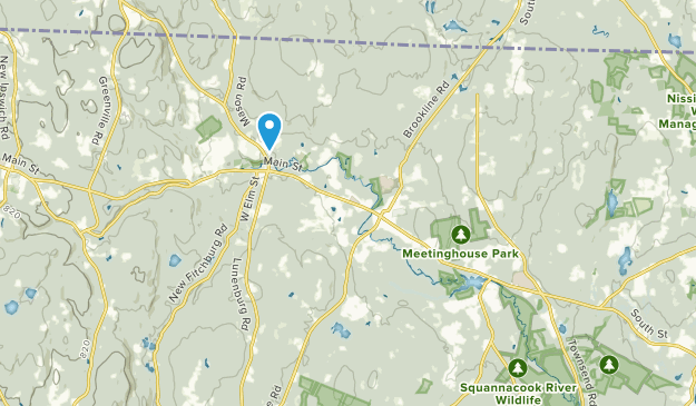 Townsend, Massachusetts Map
