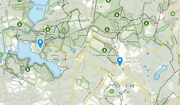 Waverley, Massachusetts Map