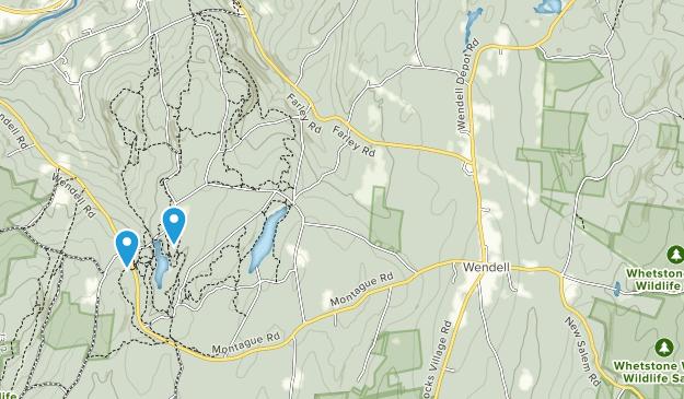 Wendell, Massachusetts Map