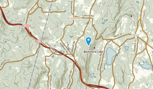 West Stockbridge, Massachusetts Map