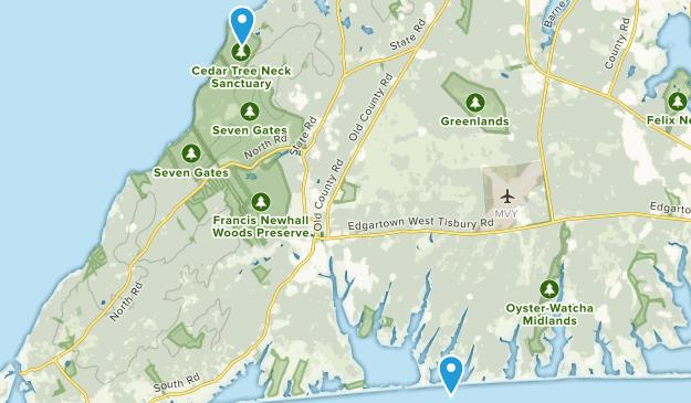 West Tisbury, Massachusetts Map