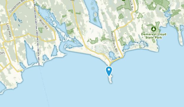 Westport Point, Massachusetts Map